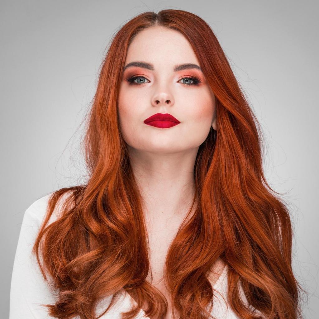 چطور رنگ موی قرمز خانگی درست کنیم؟