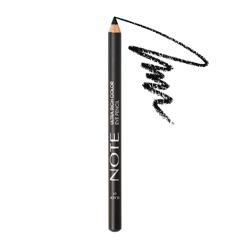 مداد چشم نُت مدل Ultra Rich Color شماره 01 - مشکی