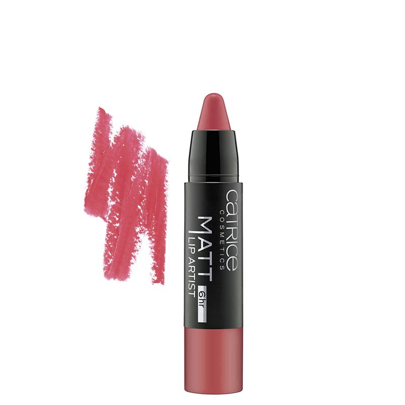 رژ لب مدادی کاتریس مدل Lip Artist شماره 020 - صورتی