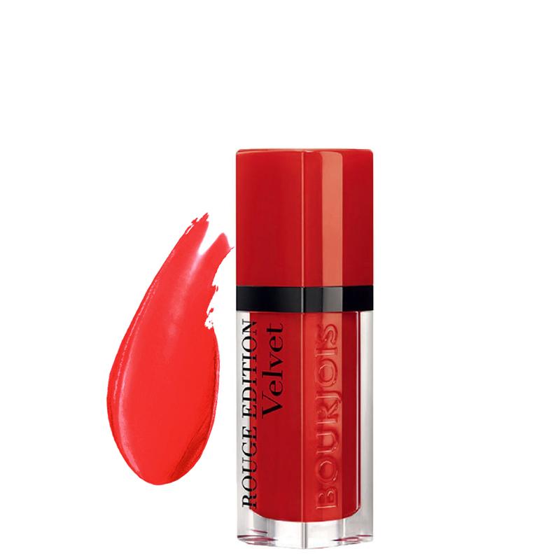 رژ لب مات مایع بورژوآ مدل Rouge Edition شماره 03