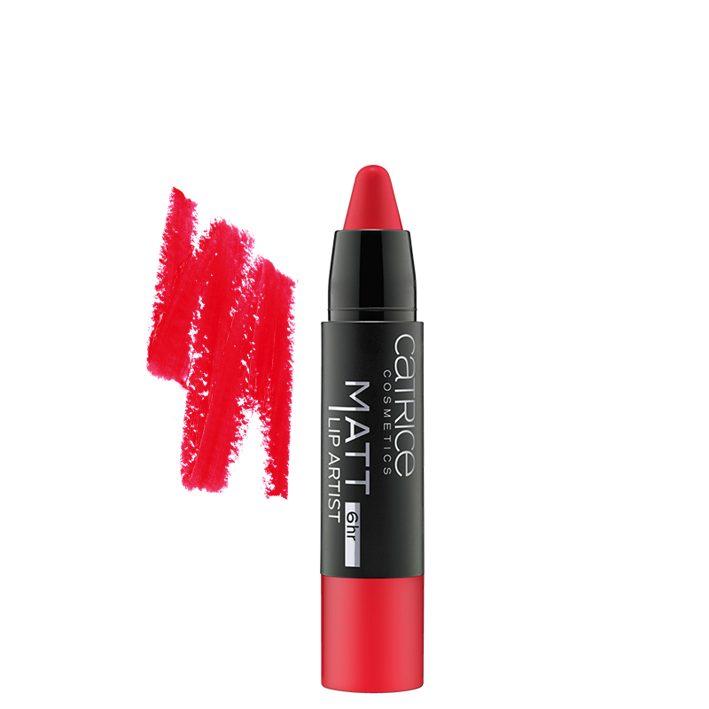 رژ لب مدادی کاتریس مدل Lip Artist شماره 050 - قرمز