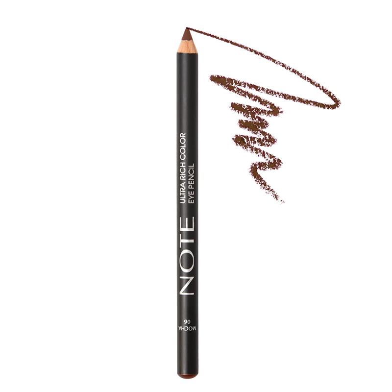 مداد چشم نُت مدل Ultra Rich Color شماره 06 - قهوه ای روشن