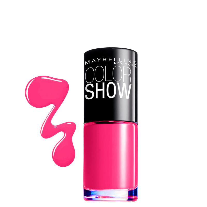 لاک ناخن میبلین مدل Color Show شماره 06 - صورتی
