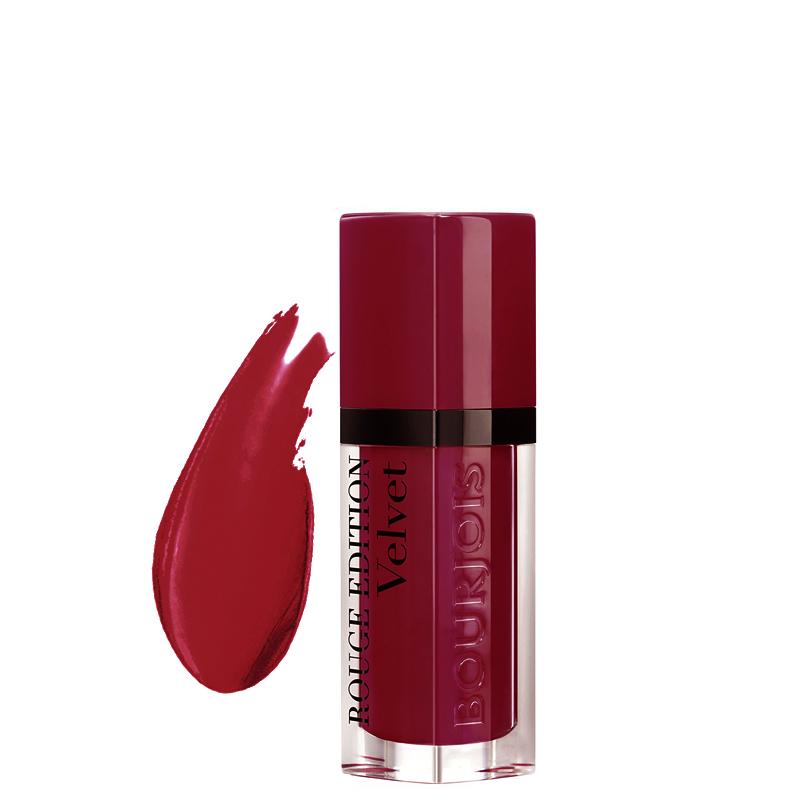 رژ لب مات مایع بورژوآ مدل Rouge Edition شماره 08