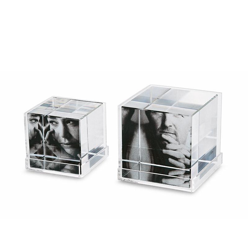قاب عکس کریستالی فیلیپی مدل Cubic سایز L