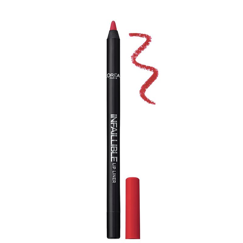 مداد لب بادوام لورال پاریس مدل Infallible شماره 102- صورتی