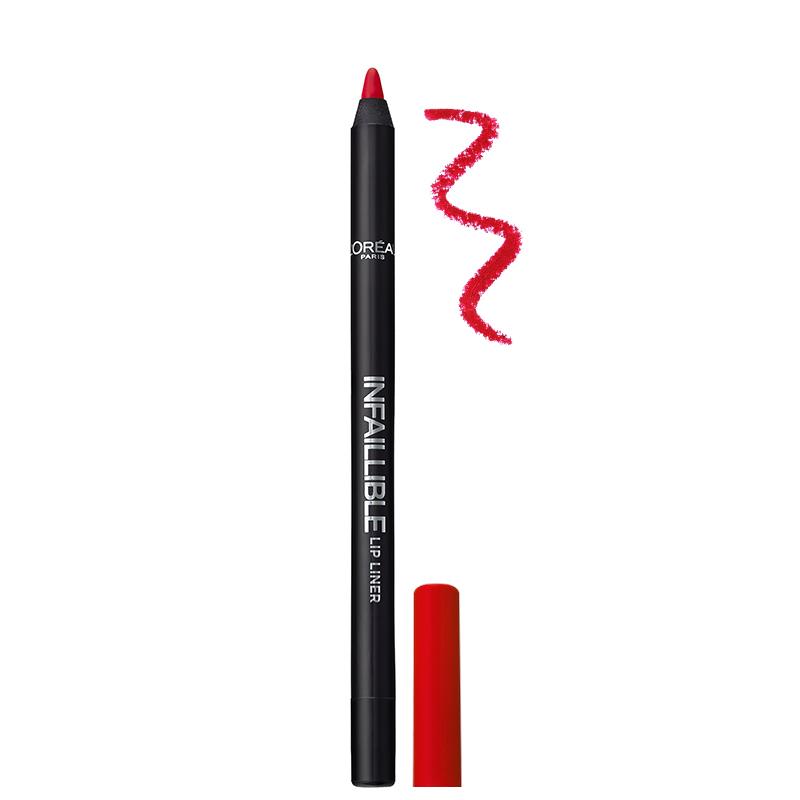 مداد لب بادوام لورال پاریس مدل Infallible شماره 105 - قرمز
