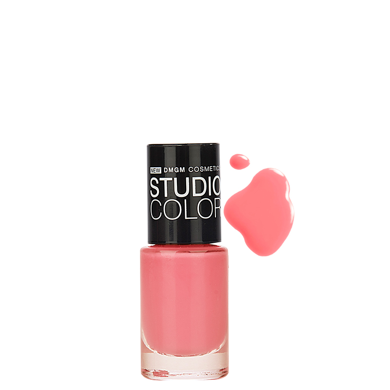 لاک ناخن دی ام جی ام مدل Studio Color شماره 11 - صورتی روشن