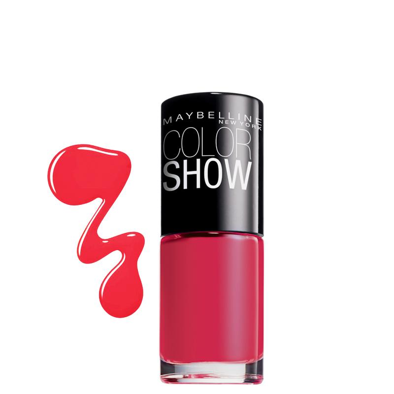 لاک ناخن میبلین مدل Color Show شماره 110 - مرجانی روشن