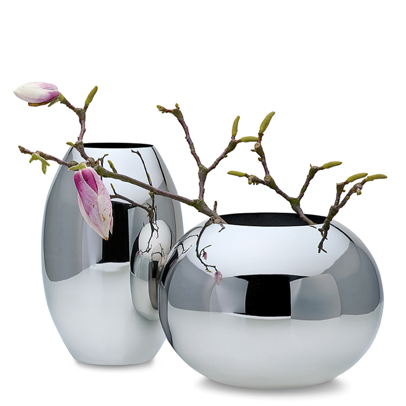 گلدان فلزی فیلیپی مدل Orb