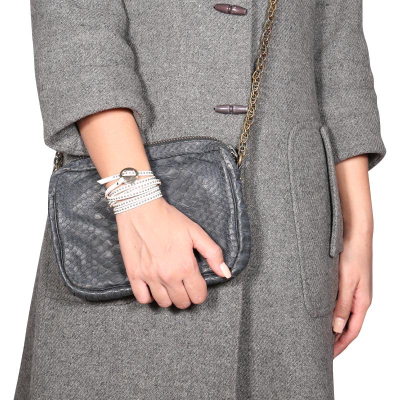 دستبند ادوریتا مدل Tornillo Blanca