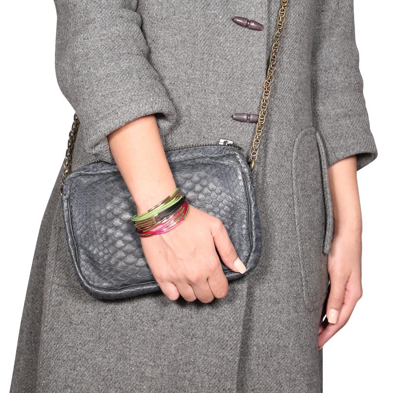 دستبند ادوریتا مدل  Cinco Hilo Rosa & Verde & Negra