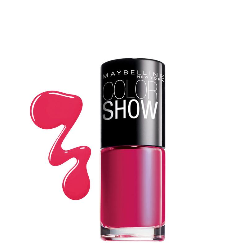 لاک ناخن میبلین مدل Color Show شماره 15 - سرخابی