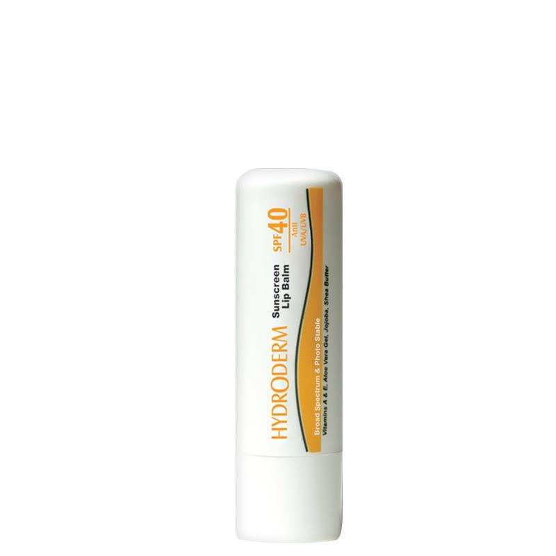 ضد آفتاب لب هیدرودرم با SPF40 وزن 4 گرم