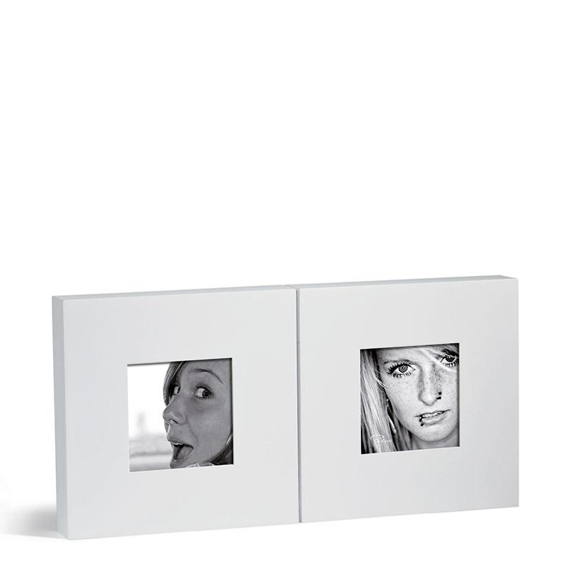 قاب عکس چوبی 2 عددی فیلیپی مدل Quadrat
