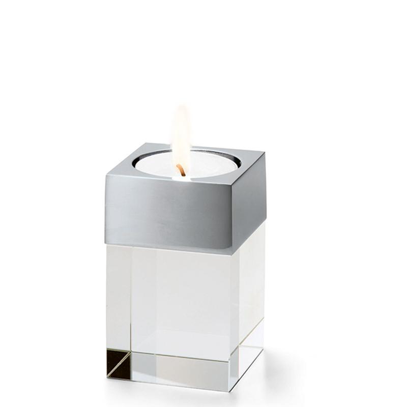 پایه نگهدارنده شمع شیشه ای فیلیپی مدل Cavo  سایز S