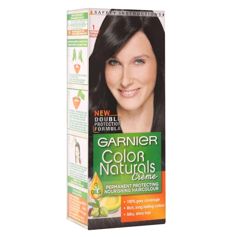 کیت رنگ مو گارنیه مدل Color Naturals شماره 1.0 - مشکی