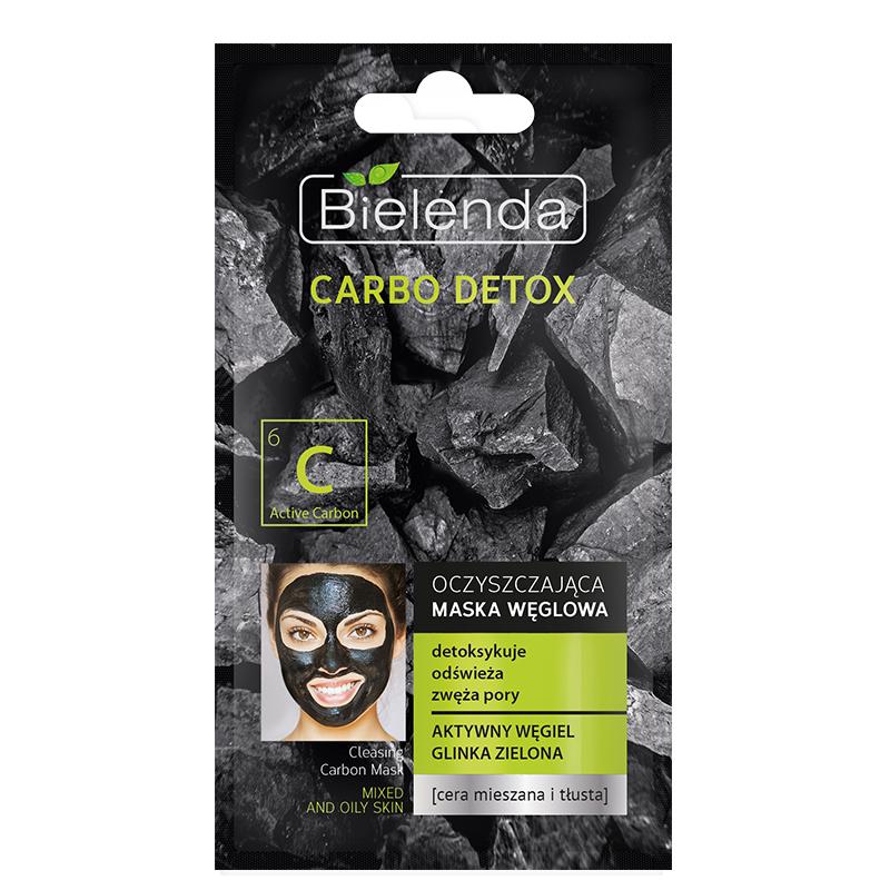 ماسک پاکساری کننده زغال بی یلندا مناسب پوستهای چرب و مختلط حجم 8 گرم