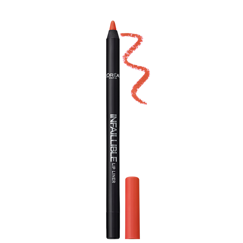 مداد لب بادوام لورال پاریس مدل Infallible شماره 201 - گلبهی