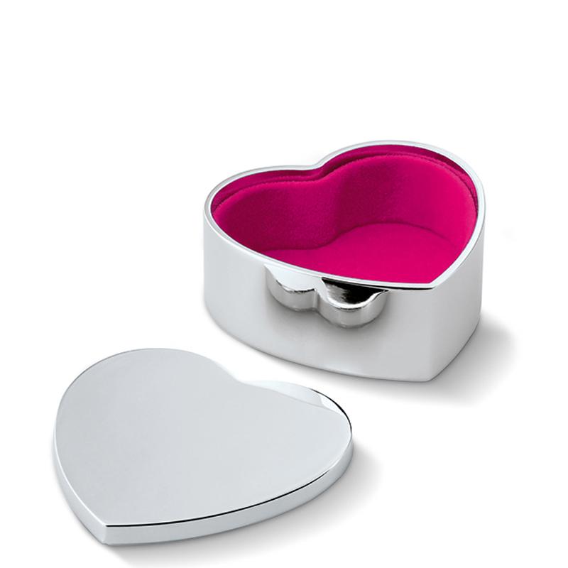 جعبه جواهرات قلبی فیلیپی مدل Pad