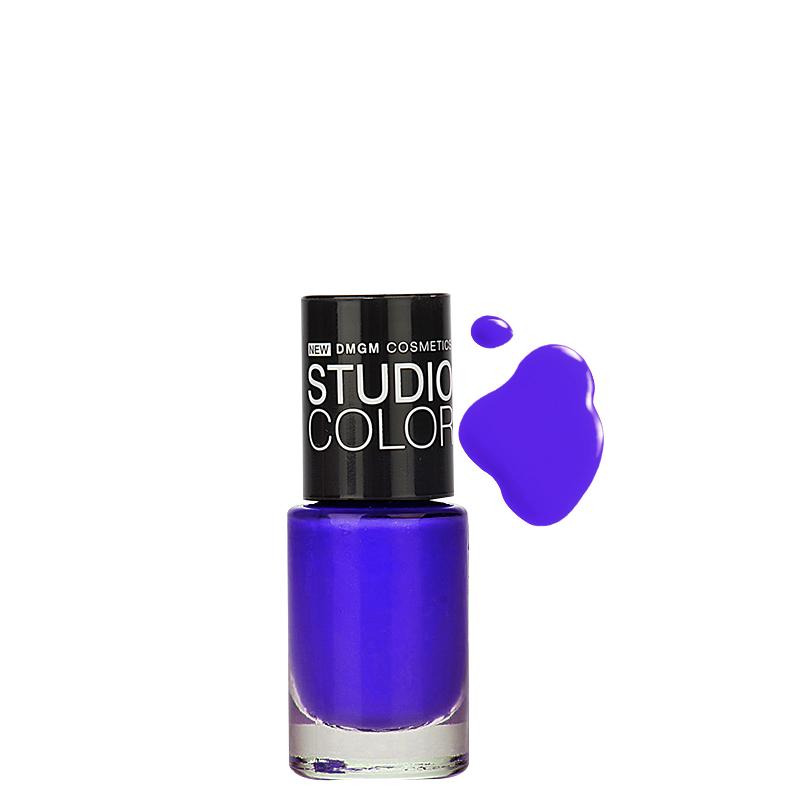 لاک ناخن دی ام جی ام مدل Studio Color شماره 23 - لاجوردی