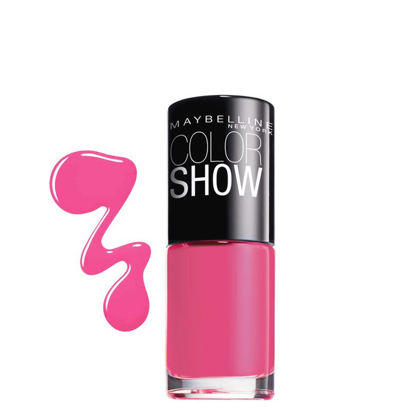 لاک ناخن میبلین مدل Color Show شماره 262 - جگری