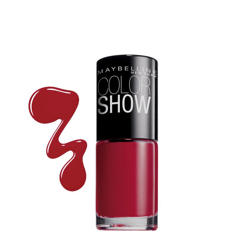 لاک ناخن میبلین مدل Color Show شماره 265 - شرابی