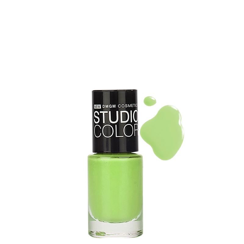لاک ناخن دی ام جی ام مدل Studio Color شماره 31 - سبز چمنی