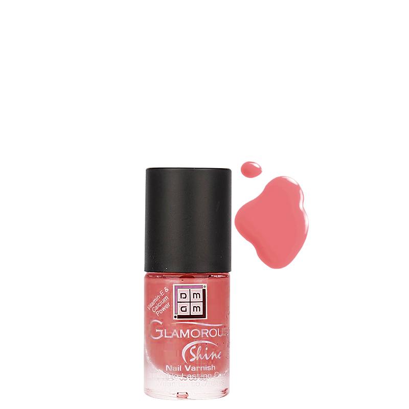 لاک ناخن دی ام جی ام مدل Glamorous Shine شماره 32 - صورتی کم رنگ