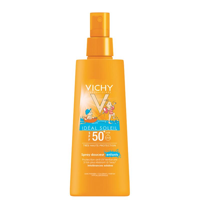 اسپری ضد آفتاب کودکان ویشی مدل Ideal Soleil
