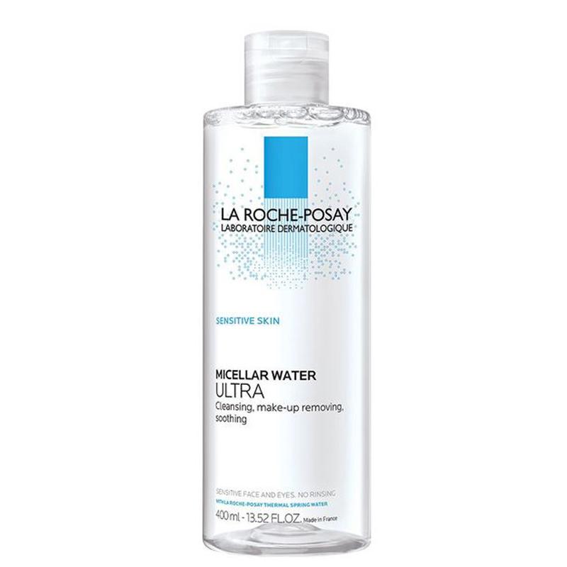 محلول پاک کننده آرایش پوست های بسیار حساس لاروش پوزای حجم 400 میل