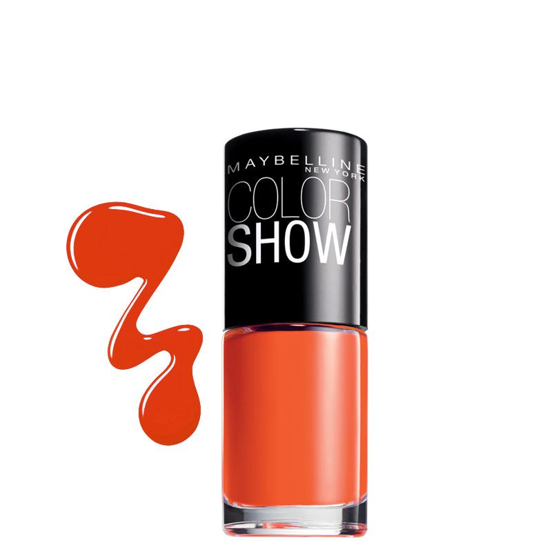 لاک ناخن میبلین مدل Color Show شماره 341 - نارنجی