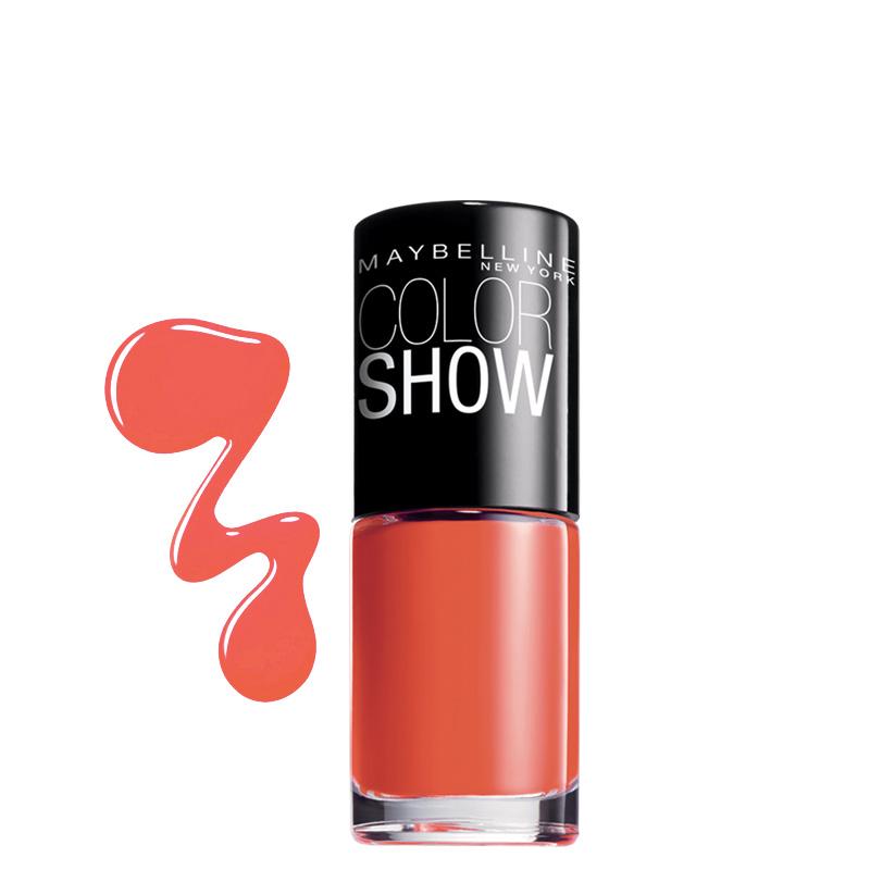 لاک ناخن میبلین مدل Color Show شماره 342 - مرجانی