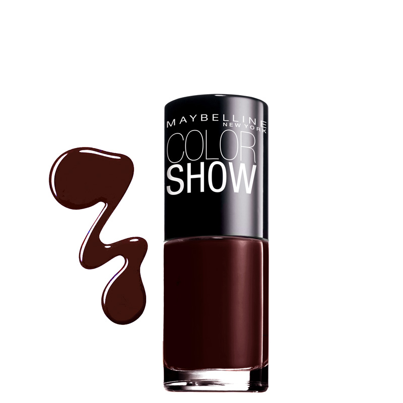 لاک ناخن میبلین مدل Color Show شماره 357 - قهوه ایی