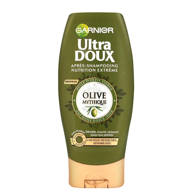 نرم کننده و تقویت کننده موهای خشک و بی جان زیتون گارنیه مدل Ultra Doux حجم 200 میل