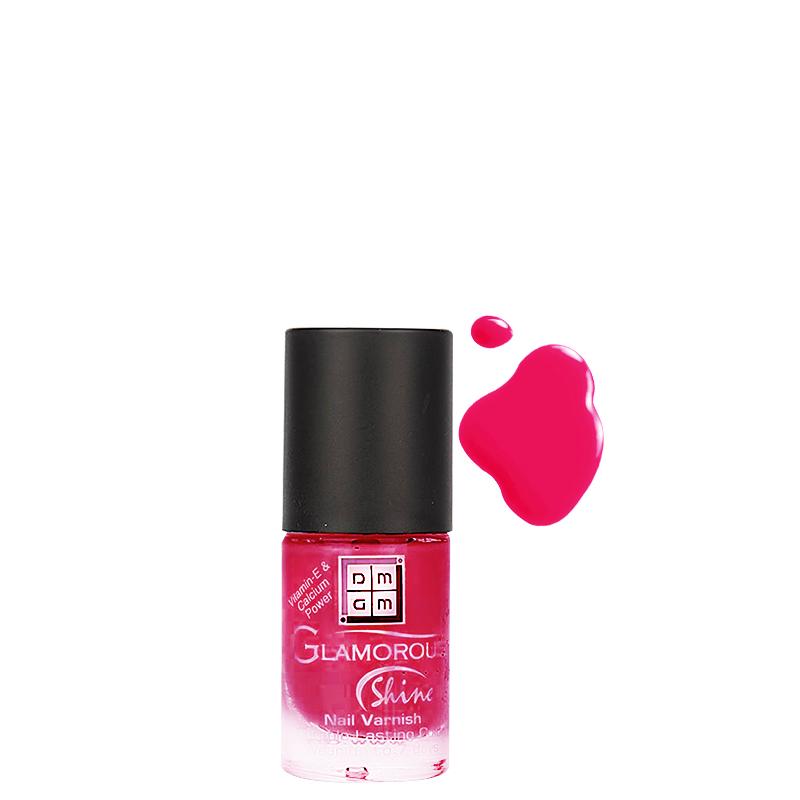 لاک ناخن دی ام جی ام مدل Glamorous Shine شماره 38 - صورتی پر رنگ