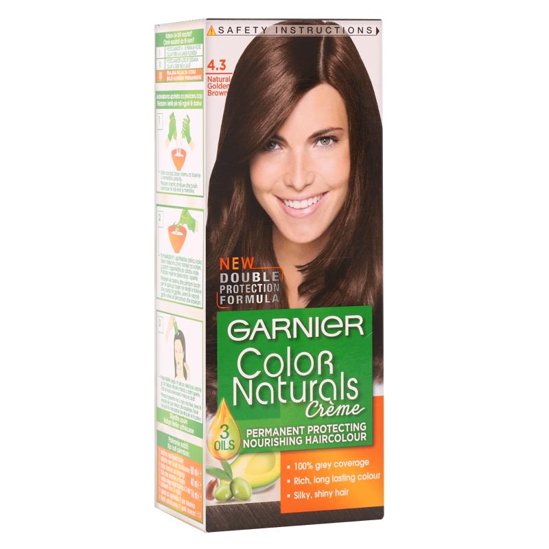 کیت رنگ مو گارنیه مدل Color Naturals شماره 4.3