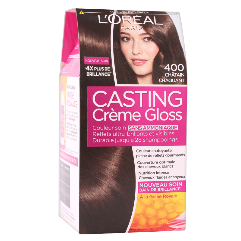 کیت رنگ مو لورال پاریس مدل Casting شماره 400 حجم 50 میل - قهوه ای تیره