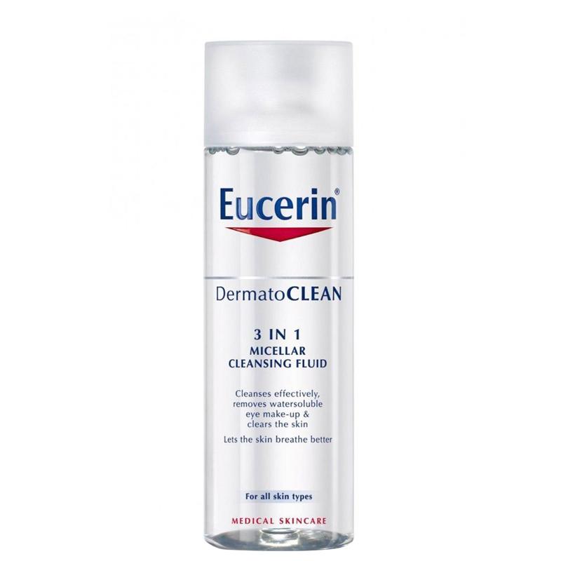 محلول پاک کننده صورت و دورچشم 3*1 اوسرین