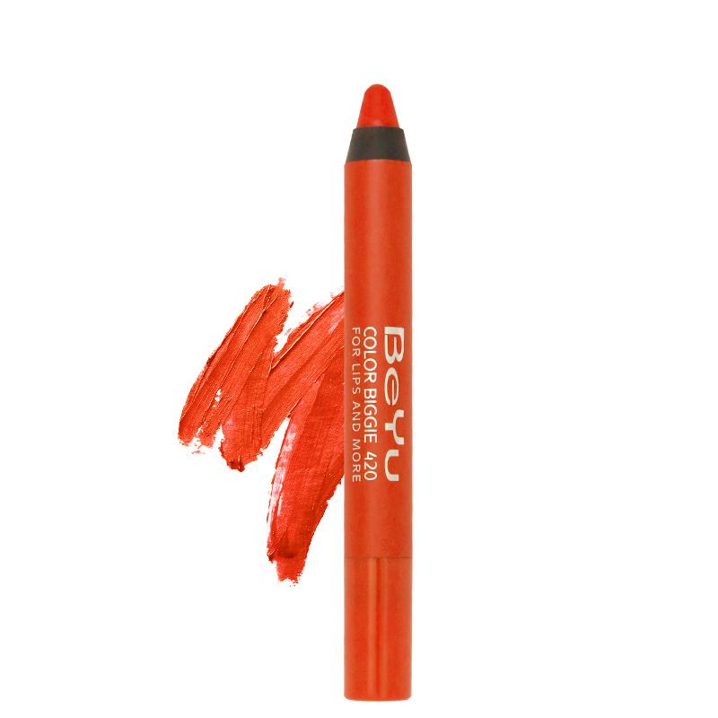 مداد لب دو کاره براق بی یو مدل Color Biggie شماره 442