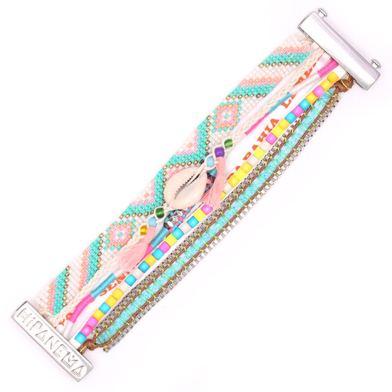 دستبند هیپانما مدل Rainbow