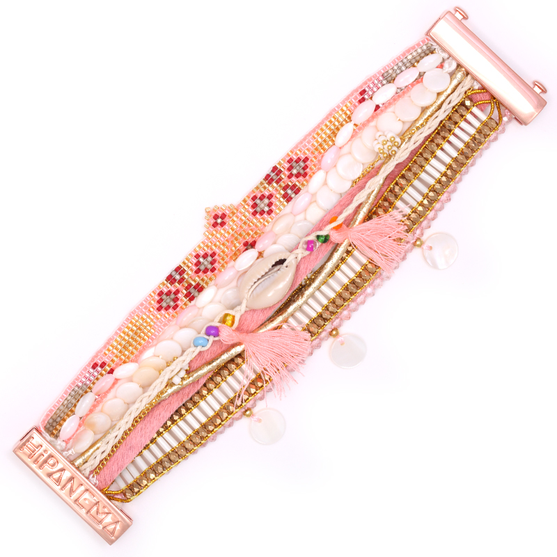 دستبند هیپانما مدل Borabora - سایز متوسط