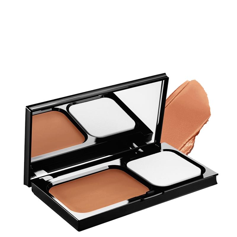 کرم پودر فشرده 12 ساعته اصلاح کننده رنگ ویشی مدل Derma Blend با SPF 30 شماره 55 - برنز