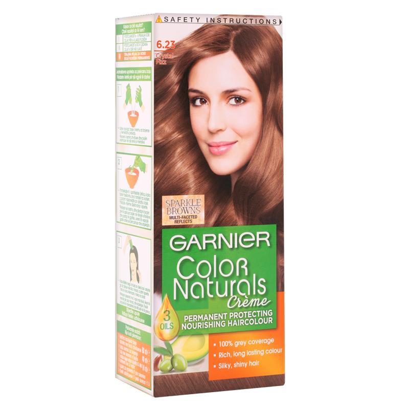 کیت رنگ مو گارنیه مدل Color Naturals شماره 6.23