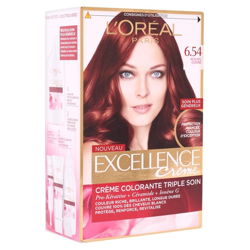 کیت رنگ مو لورال پاریس مدل Excellence