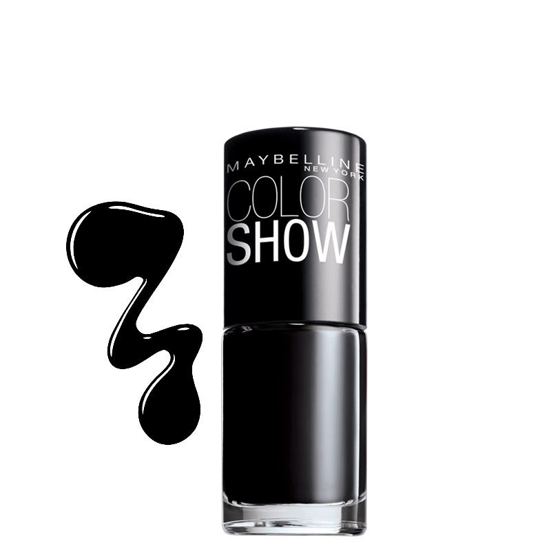 لاک ناخن میبلین مدل Color Show شماره 677 - مشکی