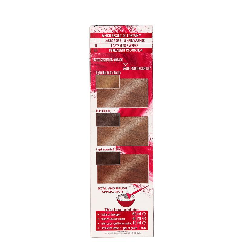 کیت رنگ مو گارنیه مدل Color Sensation شماره 7.0 - بلوند براق
