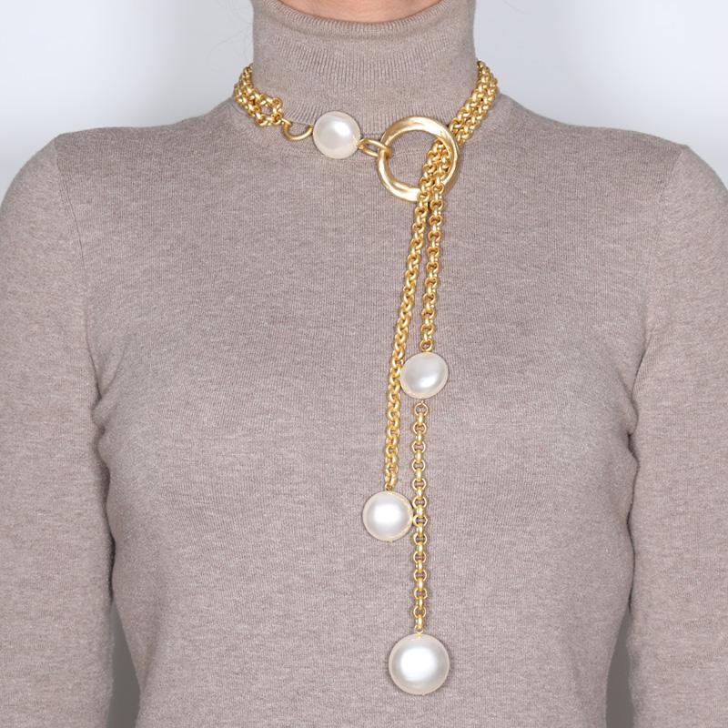 گردنبند مروارید کولوکو مدل Kiev