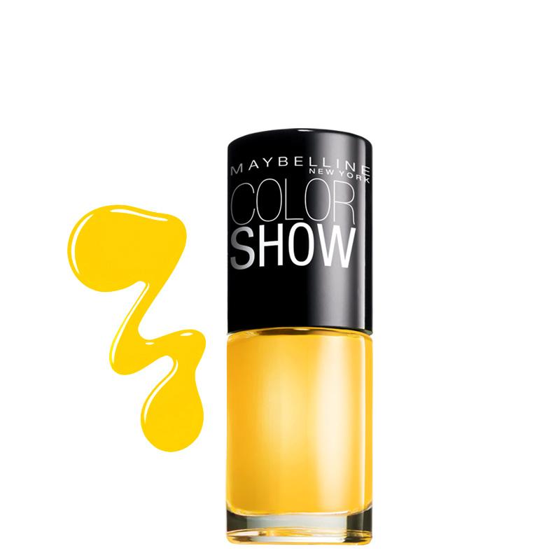 لاک ناخن میبلین مدل Color Show شماره 749 - زرد