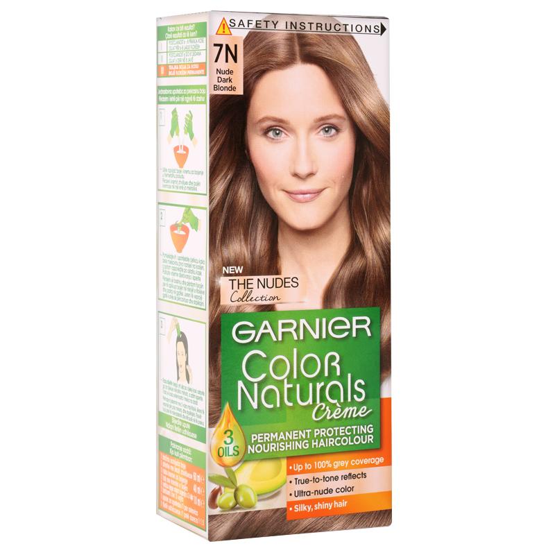 کیت رنگ مو گارنیه مدل Color Naturals شماره 7N